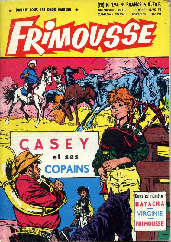 Couverture de Frimousse et Frimousse-Capucine -194- Casey et ses copains