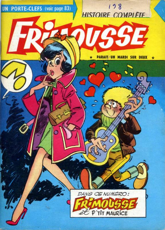 Couverture de Frimousse et Frimousse-Capucine -1983- Frimousse et p'tit Maurice