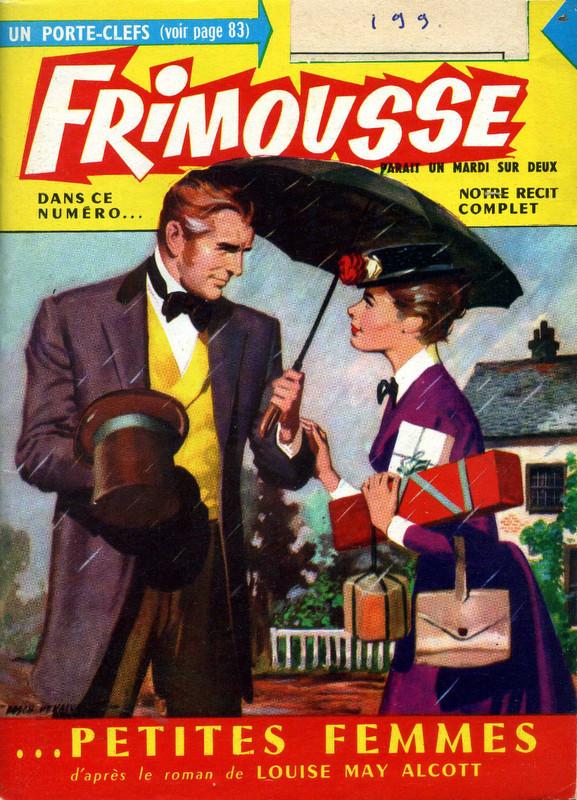 Couverture de Frimousse et Frimousse-Capucine -1994- Petites femmes