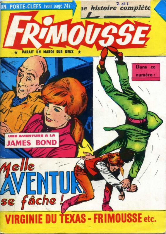 Couverture de Frimousse et Frimousse-Capucine -20110- Melle Aventure se fache