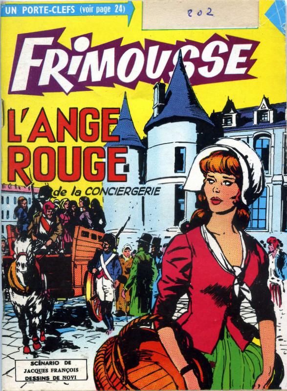 Couverture de Frimousse et Frimousse-Capucine -20211- L'ange rouge de la conciergerie