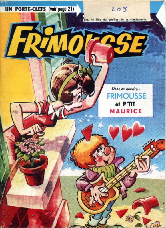 Couverture de Frimousse et Frimousse-Capucine -20312- Frimousse et P'tit Maurice