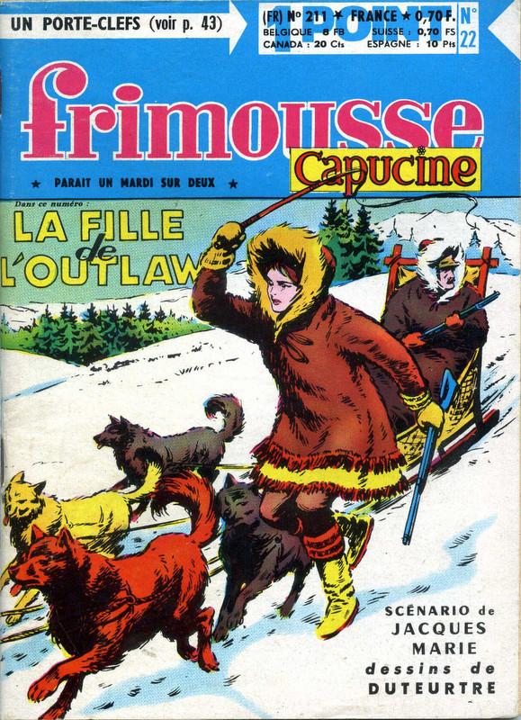 Couverture de Frimousse et Frimousse-Capucine -211- La fille de l'outlaw