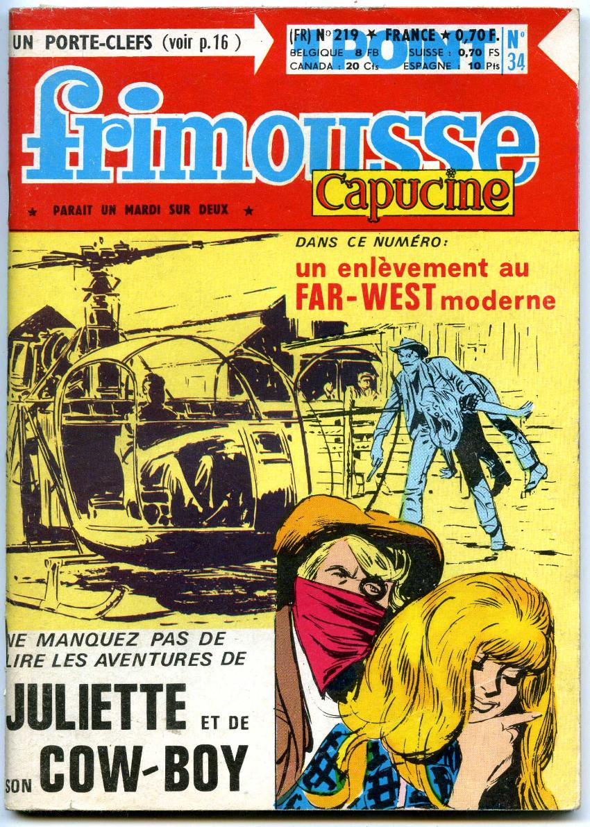 Couverture de Frimousse et Frimousse-Capucine -219- Juliette et son cow-boy