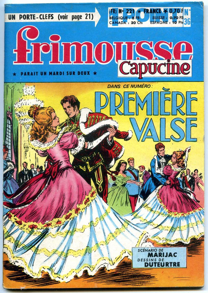 Couverture de Frimousse et Frimousse-Capucine -22136- Première valse