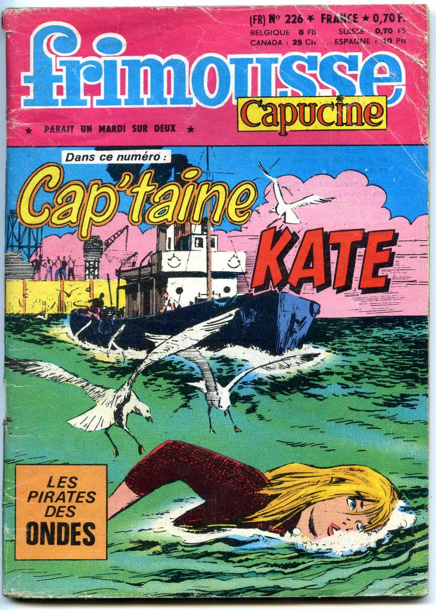 Couverture de Frimousse et Frimousse-Capucine -226- Cap'taine Kate