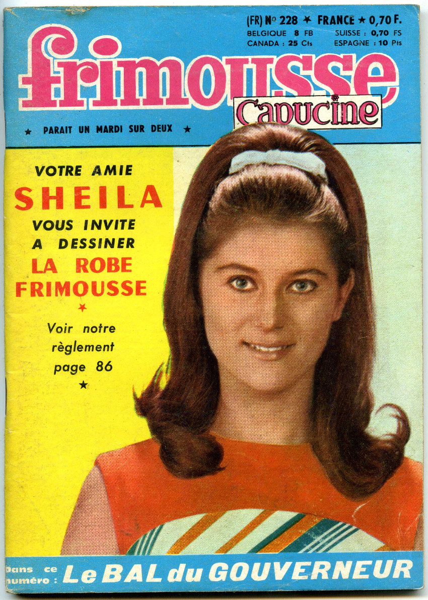 Couverture de Frimousse et Frimousse-Capucine -228- Sheila
