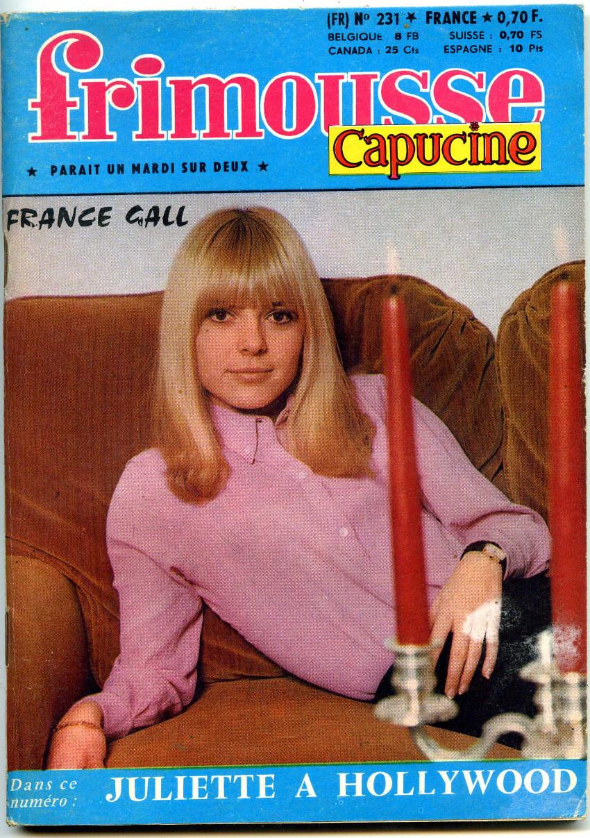 Couverture de Frimousse et Frimousse-Capucine -231- Juliette à Hollywood