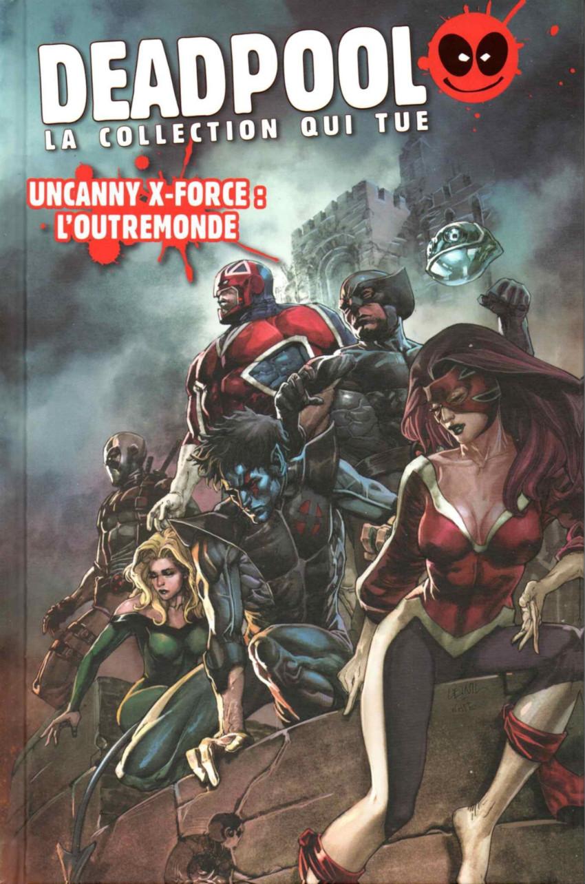 Couverture de Deadpool - La collection qui tue (Hachette) -4960- Uncanny X-Force : L'outretombe