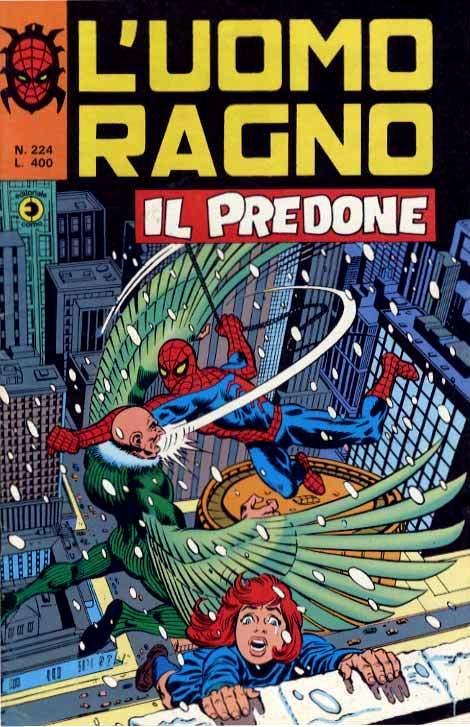 Couverture de L'uomo Ragno V1 (Editoriale Corno - 1970)  -224- Il Predone