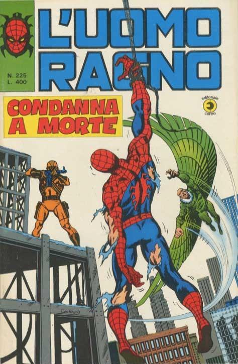 Couverture de L'uomo Ragno V1 (Editoriale Corno - 1970)  -225- Condanna a Morte