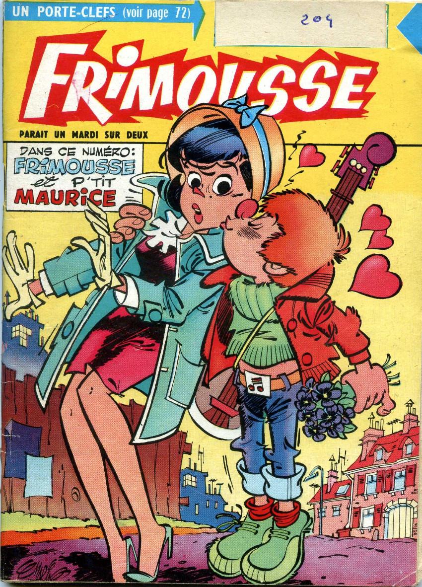 Couverture de Frimousse et Frimousse-Capucine -20413- Liliane hôtesse de l'air