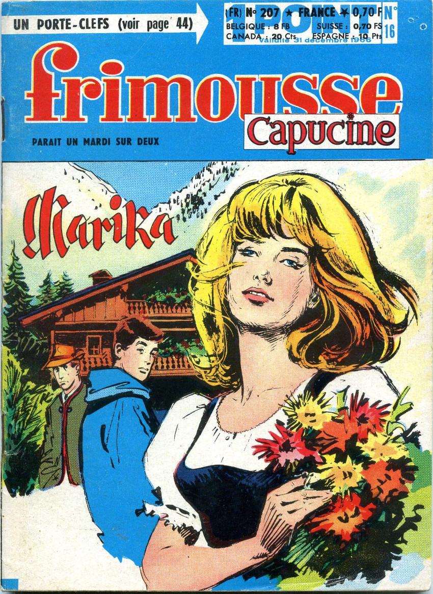 Couverture de Frimousse et Frimousse-Capucine -20716- Marika