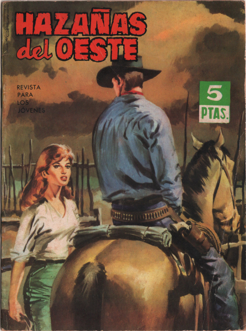 Couverture de Hazañas del Oeste -68- Número 68