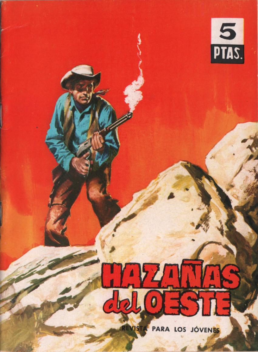 Couverture de Hazañas del Oeste -71- Número 71