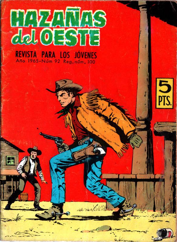 Couverture de Hazañas del Oeste -92- Número 92