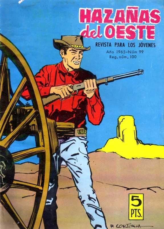 Couverture de Hazañas del Oeste -99- Número 99