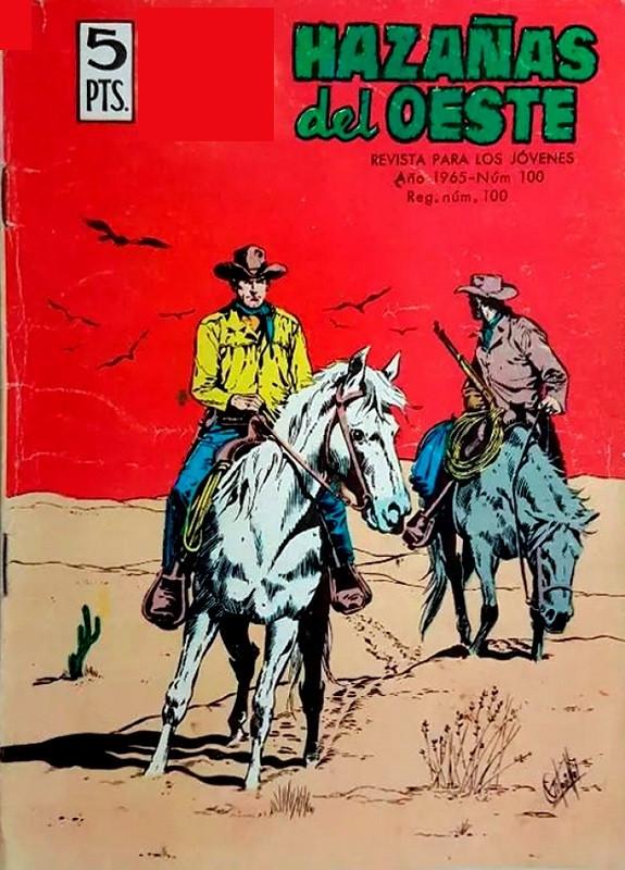 Couverture de Hazañas del Oeste -100- Número 100