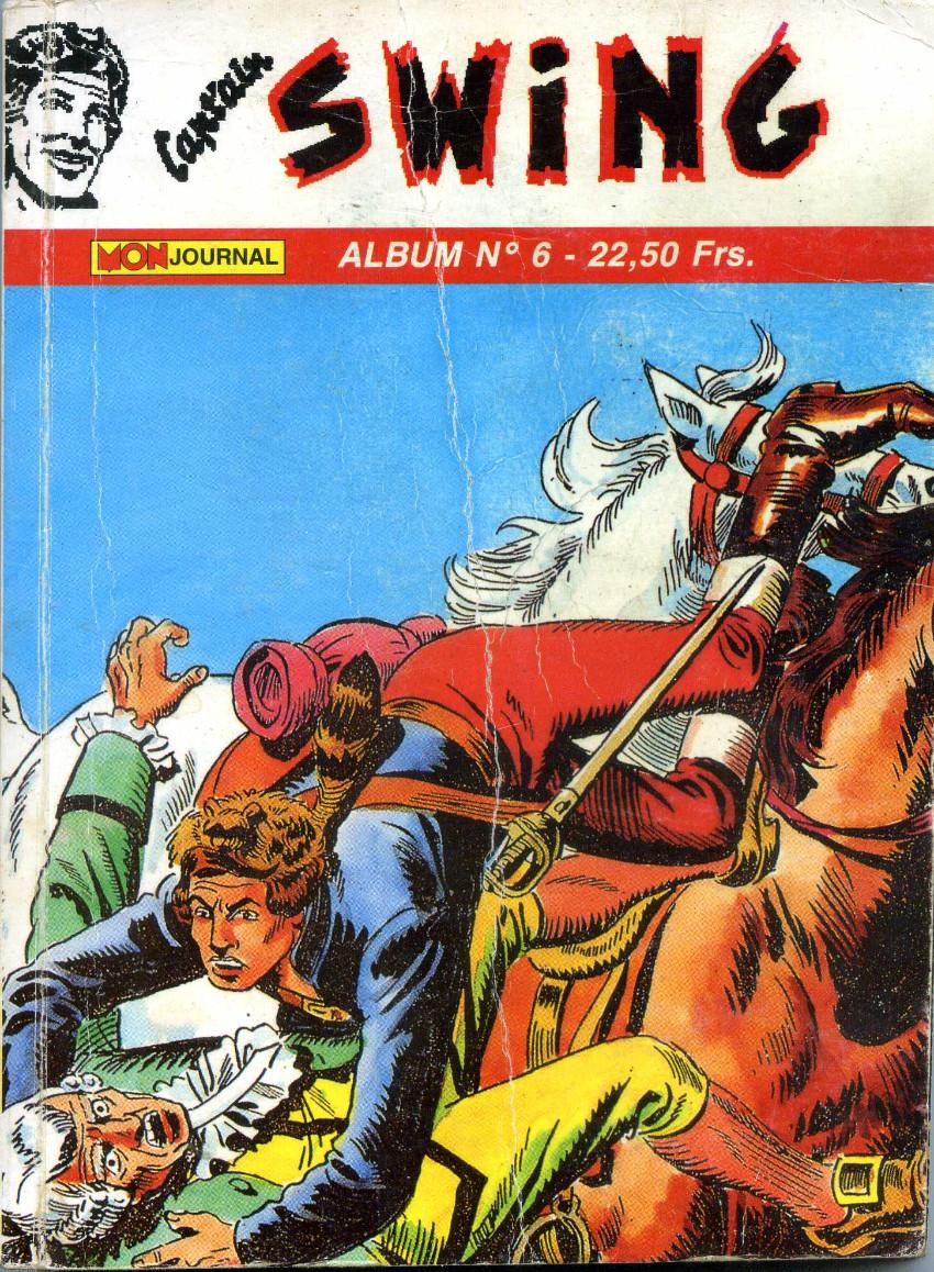 Couverture de Capt'ain Swing! (2e série - Mon Journal) -Rec06- Album N°6 (du n°16 au n°18)