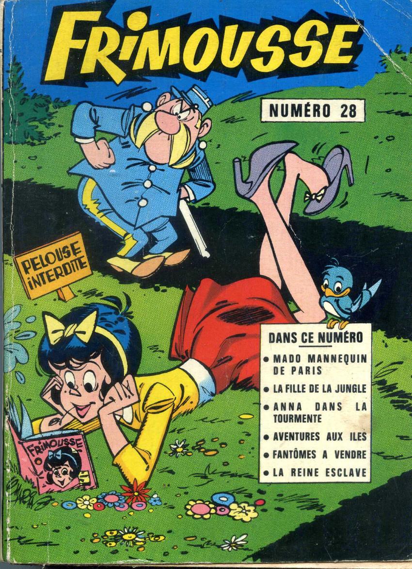 Couverture de Frimousse et Frimousse-Capucine -Rec28- Album N°28 (du n°154 au n°158)