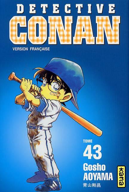 Couverture de Détective Conan -43- Tome 43