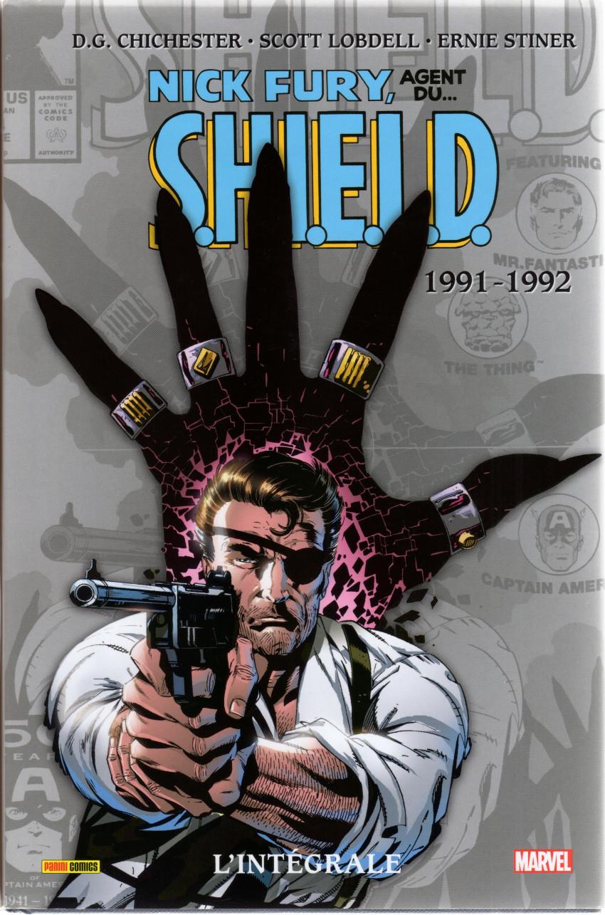 Couverture de Nick Fury, agent du S.H.I.E.L.D. (L'intégrale) -7- 1991-1992