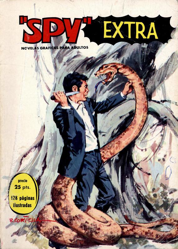 Couverture de Spy Extra -4- Número 4