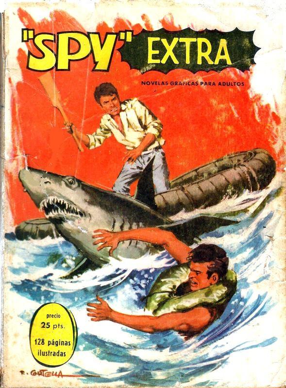 Couverture de Spy Extra -8- Número 8