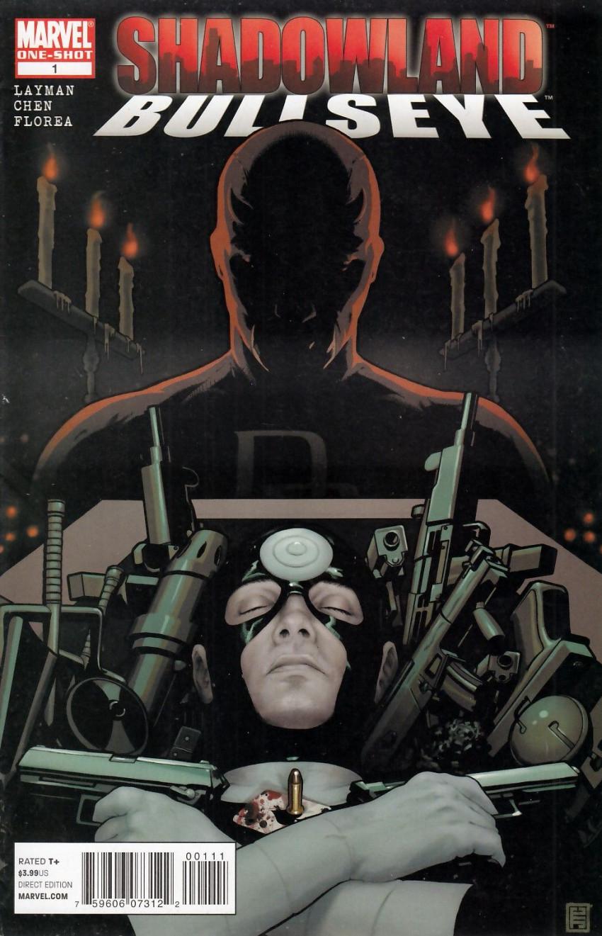 Couverture de Shadowland: Bullseye - Tome 1