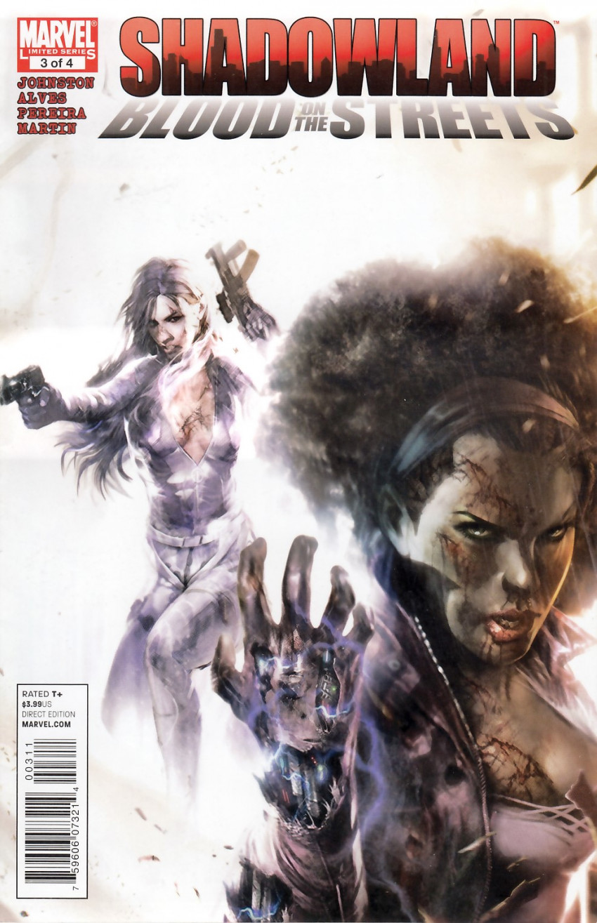 Couverture de Shadowland: Blood on the Streets -3- Shadowland: Blood on the streets 3/4