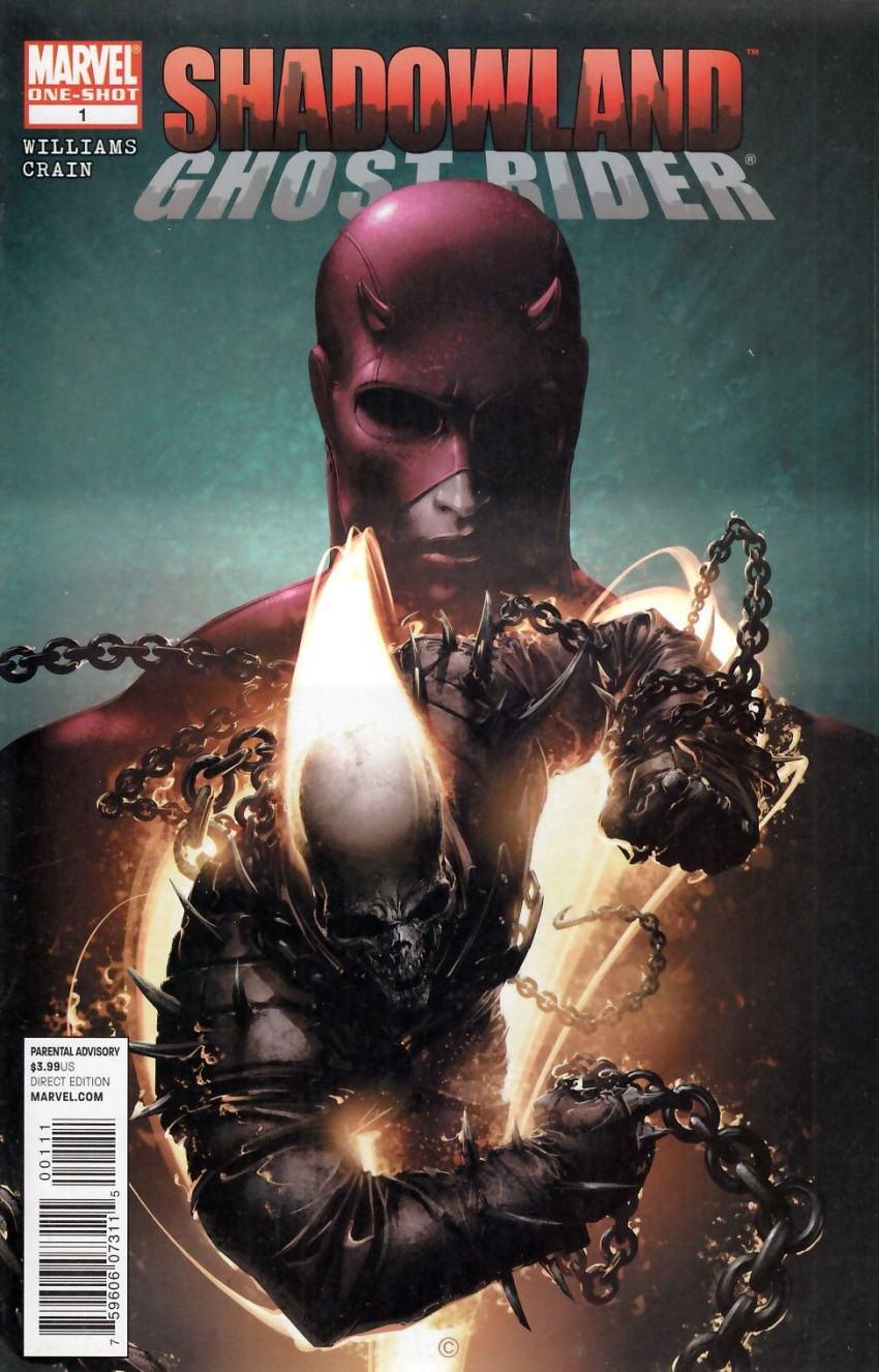 Couverture de Shadowland: Ghost Rider - Tome 1