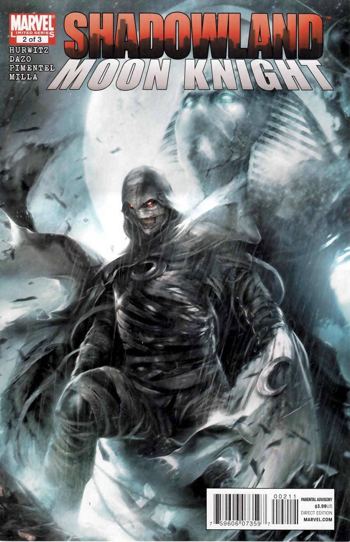 Couverture de Shadowland: Moon Knight -2- Shadowland: Moon Knight 2/3