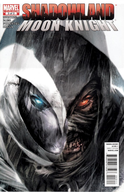 Couverture de Shadowland: Moon Knight -3- Shadowland: Moon Knight 3/3