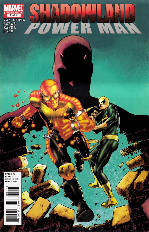 Couverture de Shadowland: Power Man -1- Shadowland: Power Man 1/4