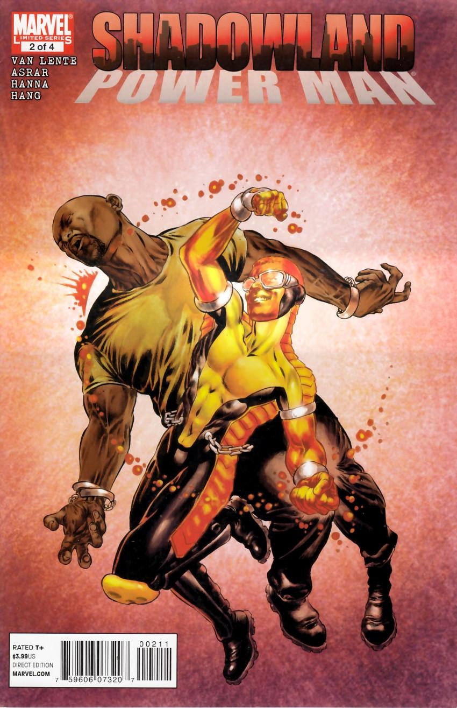 Couverture de Shadowland: Power Man -2- Shadowland: Power Man 2/4