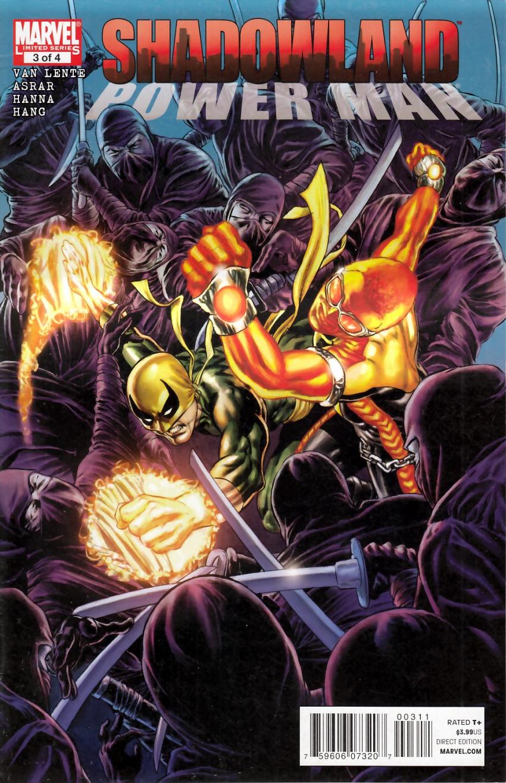 Couverture de Shadowland: Power Man -3- Shadowland: Power Man 3/4