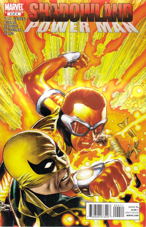 Couverture de Shadowland: Power Man -4- Shadowland: Power Man 4/4