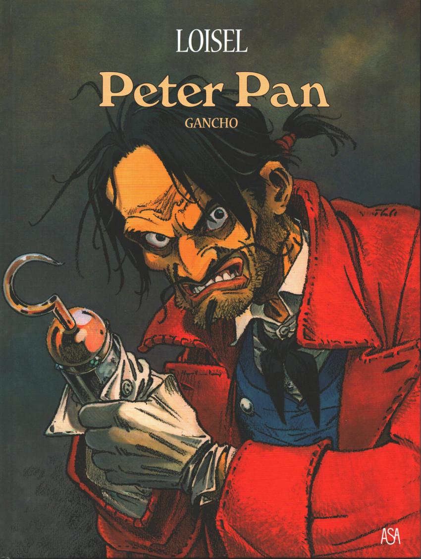 Couverture de Peter Pan (Loisel, en portugais - Público/ASA) -5- Gancho
