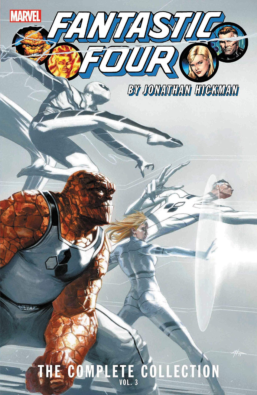 Couverture de Fantastic Four by Jonathan Hickman -3- The Complete Collection Vol.3