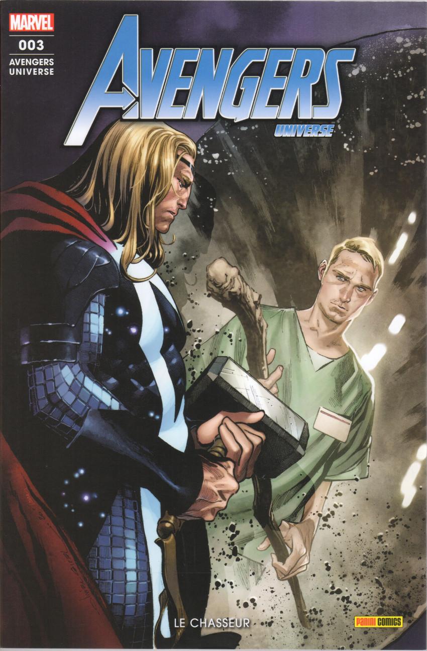 Couverture de Avengers Universe (3e série - 2021) -3- Le chasseur