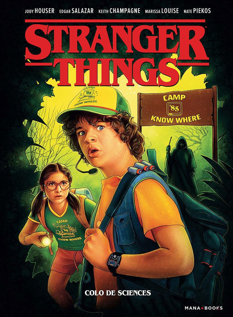 Couverture de Stranger Things -4- Colo de sciences