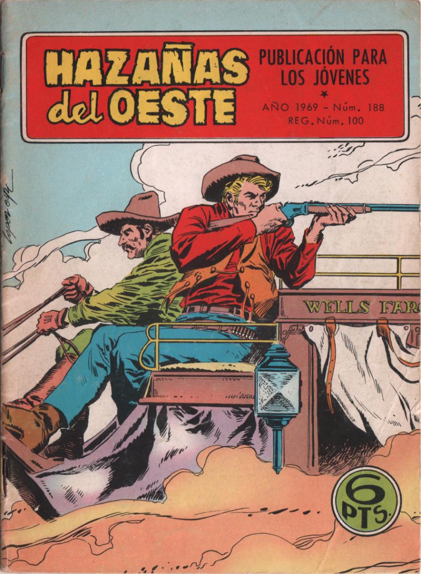 Couverture de Hazañas del Oeste -188- Número 188