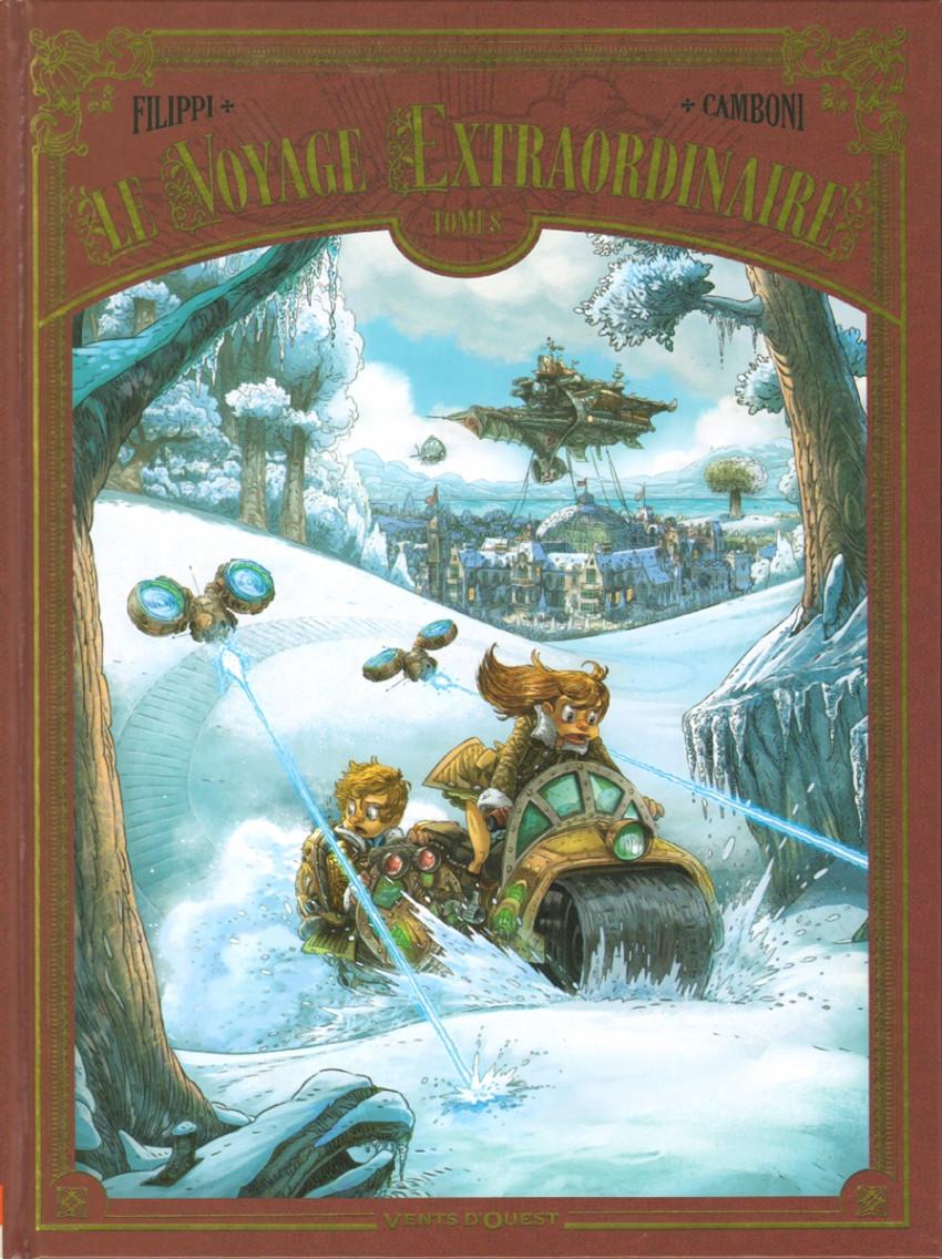 Couverture de Le voyage Extraordinaire -8- Tome 8 - Vingt mille lieues sous les glaces - 2/3