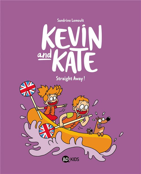 Couverture de Kevin and Kate -5- Straight away !