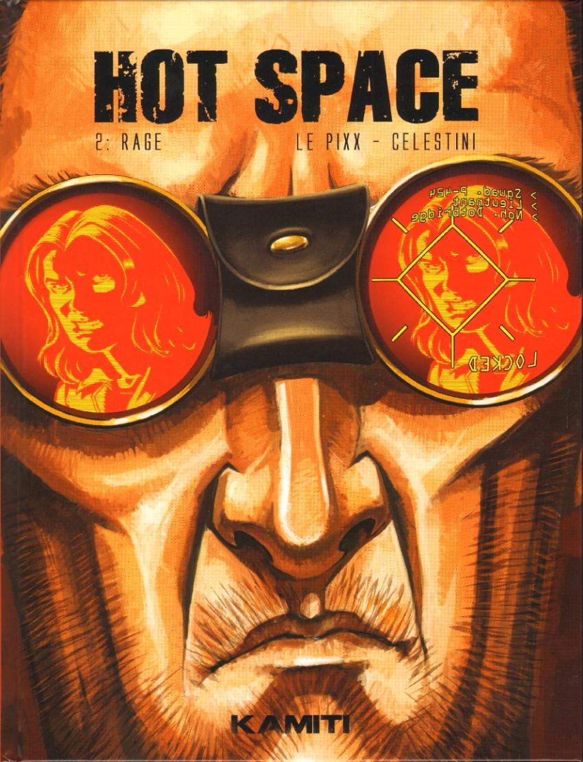 Couverture de Hot Space -2- Rage