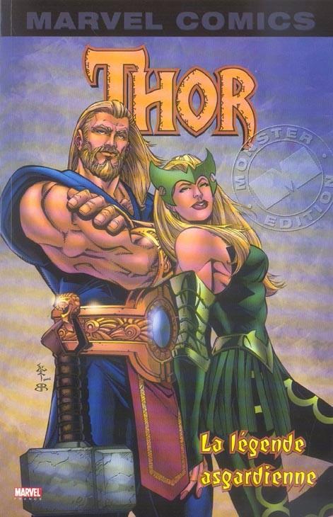 Couverture de Thor (Marvel Monster Edition) -1- La légende asgardienne