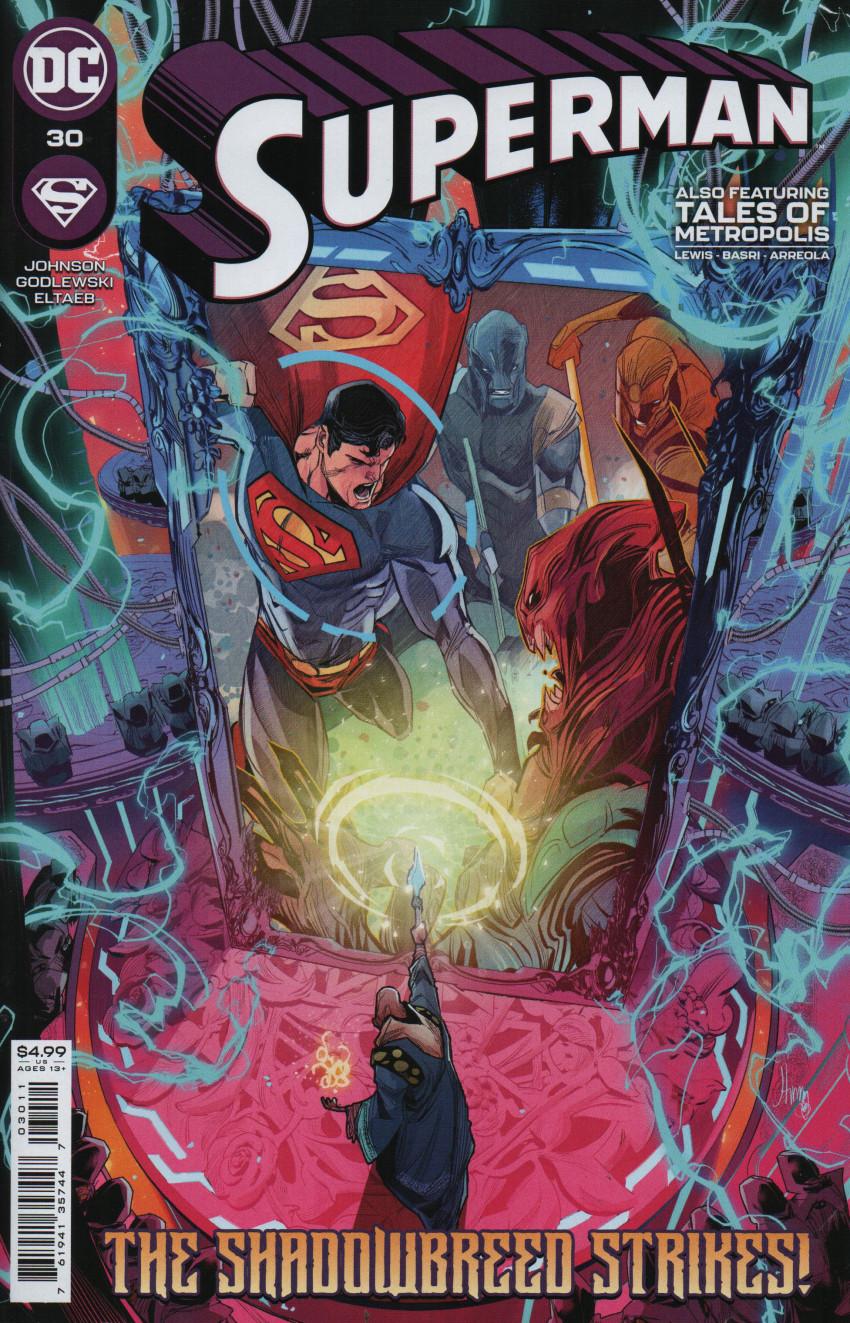 Couverture de Superman Vol.5 (DC Comics - 2018) -30- The One who Fell - Part One