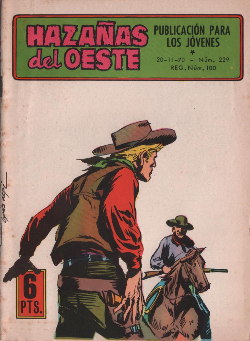 Couverture de Hazañas del Oeste -229- Número 229