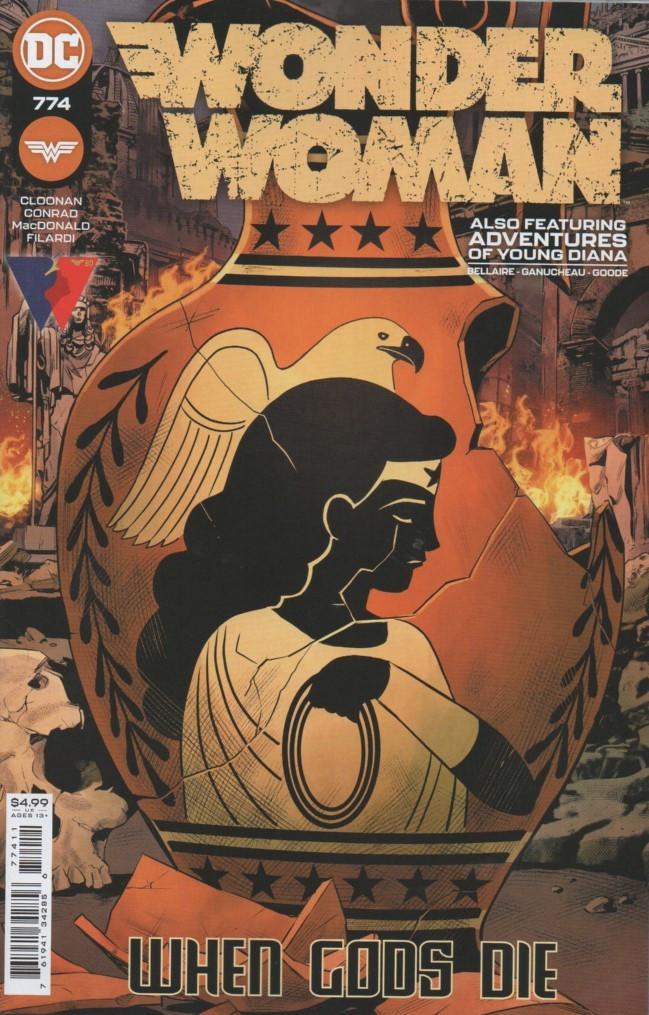 Couverture de Wonder Woman Vol.1 (DC Comics - 1942) -774- Afterworlds - Part 5