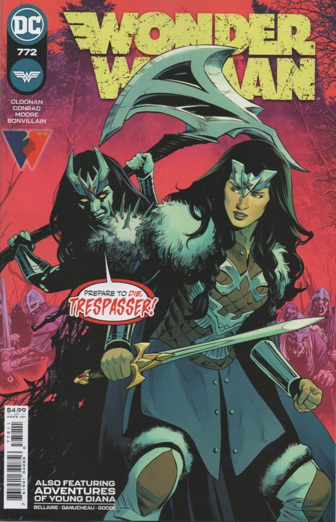 Couverture de Wonder Woman Vol.1 (DC Comics - 1942) -772- Afterworlds - Part 3